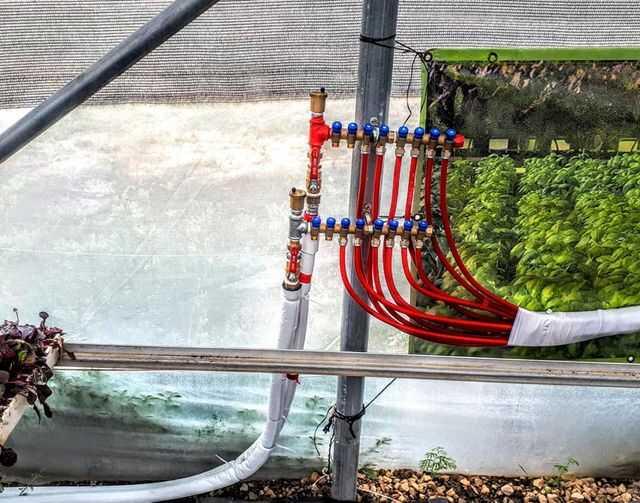 מערכות חימום וקירור בחממה הידרופונית